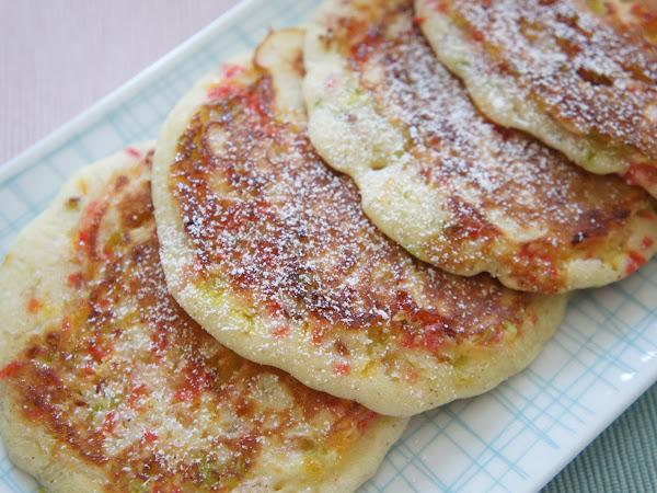 REZEPT: glutenfreie Funfetti Pancakes