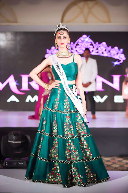 Mumbai based Fashion and Luxury Blogger wins Mrs India IMP Asia Pacific 2018 1st Runners Up Title