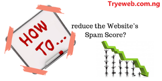 How to Reduce website spam score