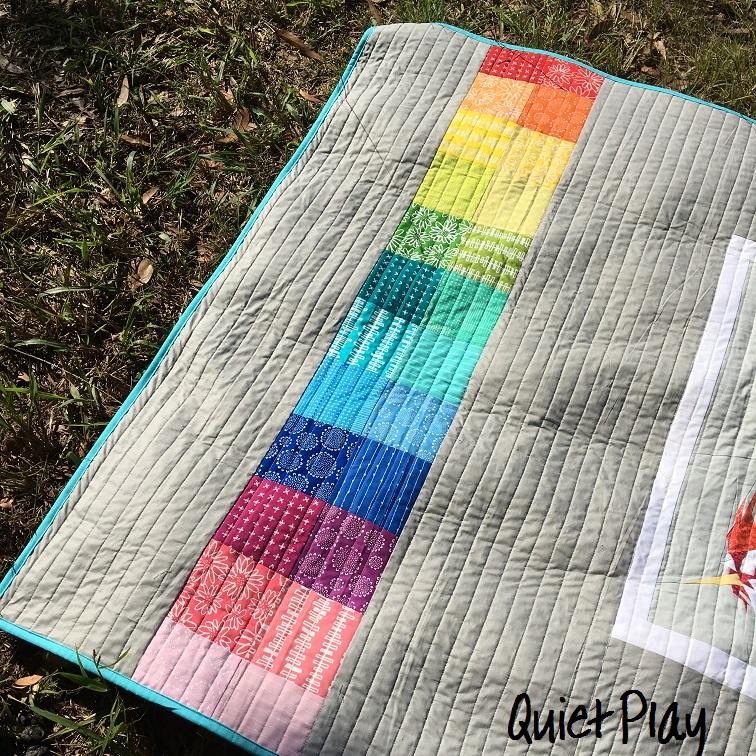 Quiet Play: Rainbow Unicorn Quilt : quilt play - Adamdwight.com