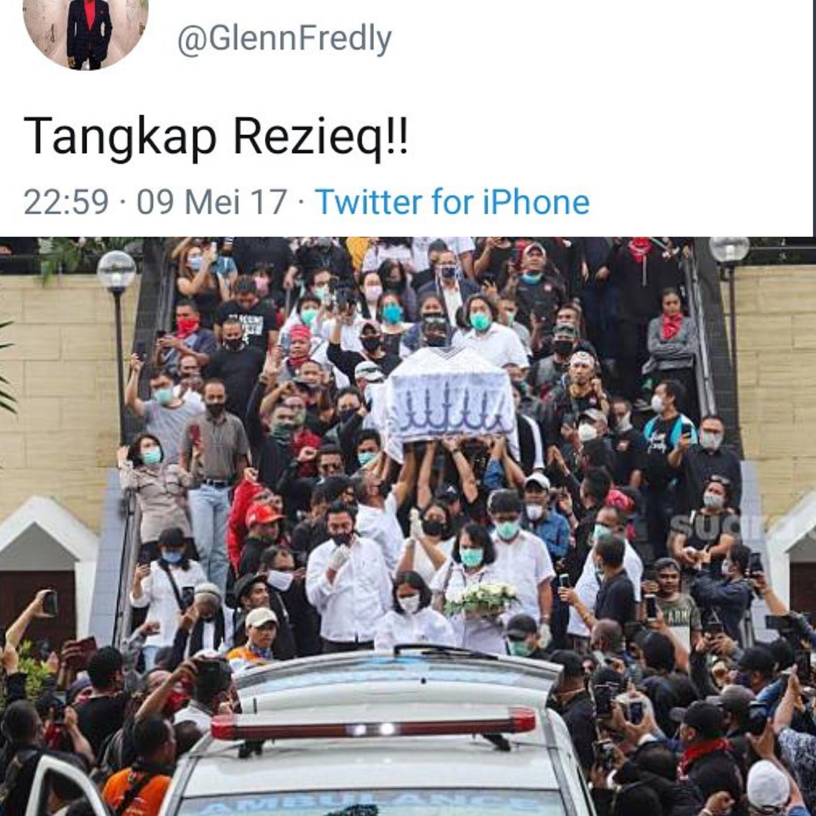 Maaf, Social Distancing Tak Berlaku di Pemakaman Glenn!