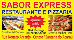 Restaurante e Pizzaria Sabor Express em Santana do Acaraú