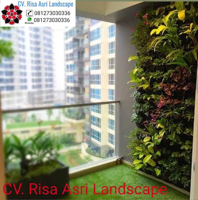 jasa pembuatan vertical garden (dinding hijau) di gresik  Jasa Vertical Garden Gresik - Jasa Pembuatan Green Wall