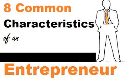 Characteristics of a good entrepreneur