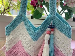 Patrón de bolsa de verano a crochet