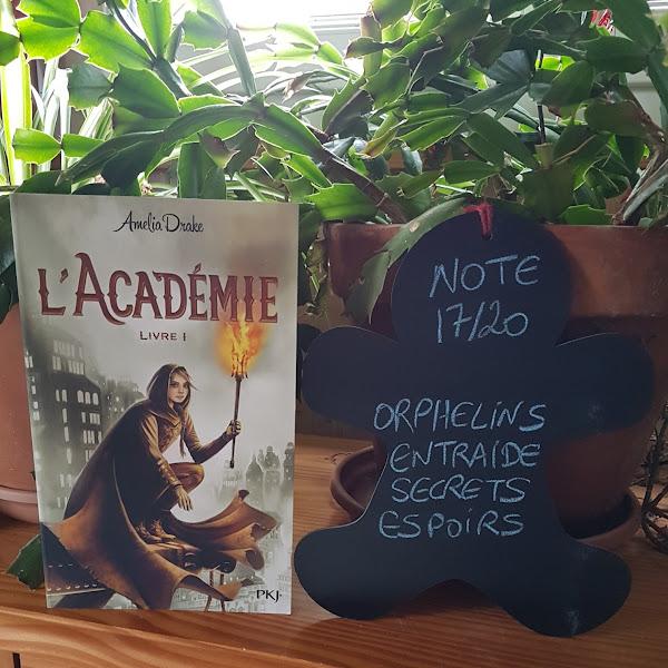 L'académie, tome 1 de Amelia Drake