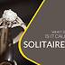 Solitaire ring, what is it and why is it called that?