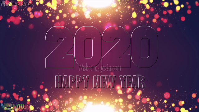 Happy New Year 2020 Sparkling Wallpapers HD Download for Desktop