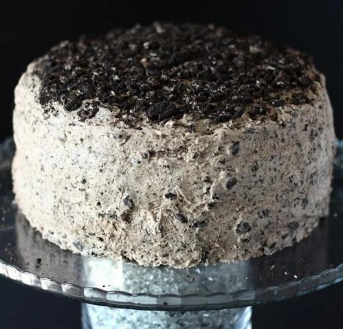 EASY VEGAN CHOCOLATE OREO CAKE #desserts #cakes #oreo #chocolate #recipes