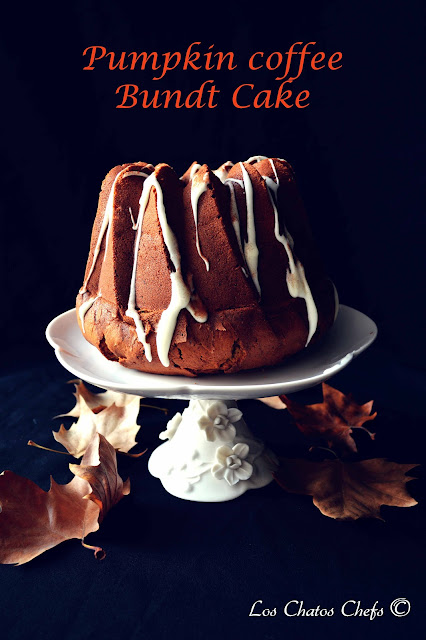 Pumpkin coffee bundt cake