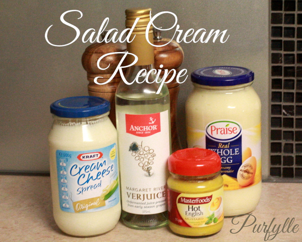 2 minute salad cream recipe