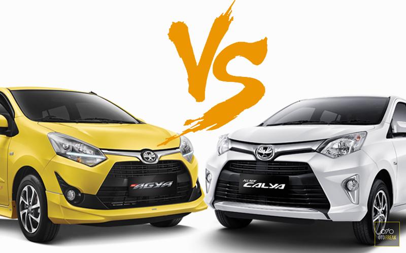 Pilih Mana Toyota Calya atau Toyota Agya?