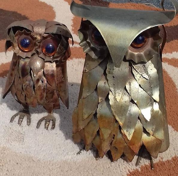 brutalist owls