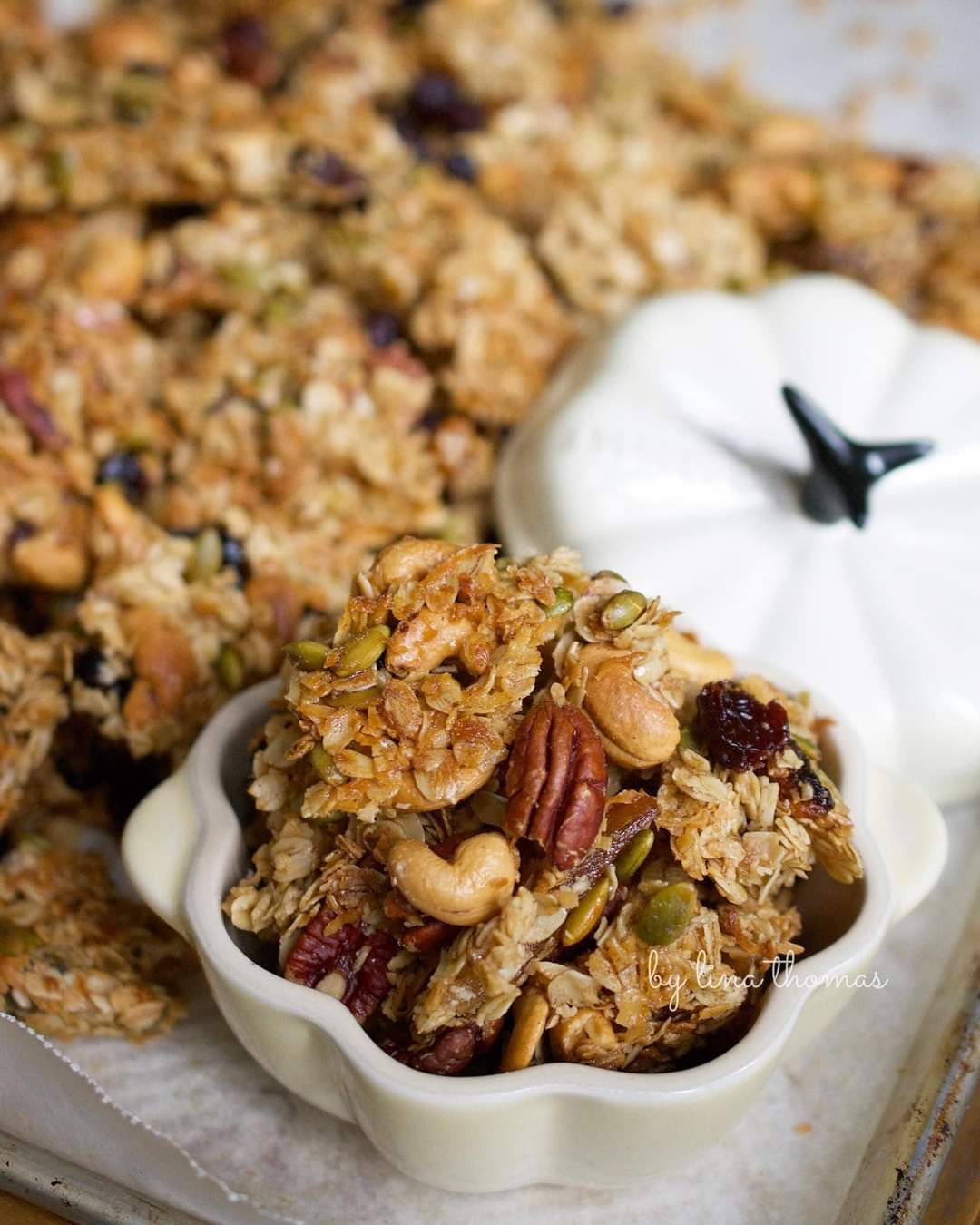 Homemade Granola By Lina Thomas