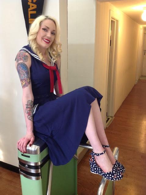 Турникет Perey (модель 48PC/00) в бутике винтажной одежды Miss L Fire