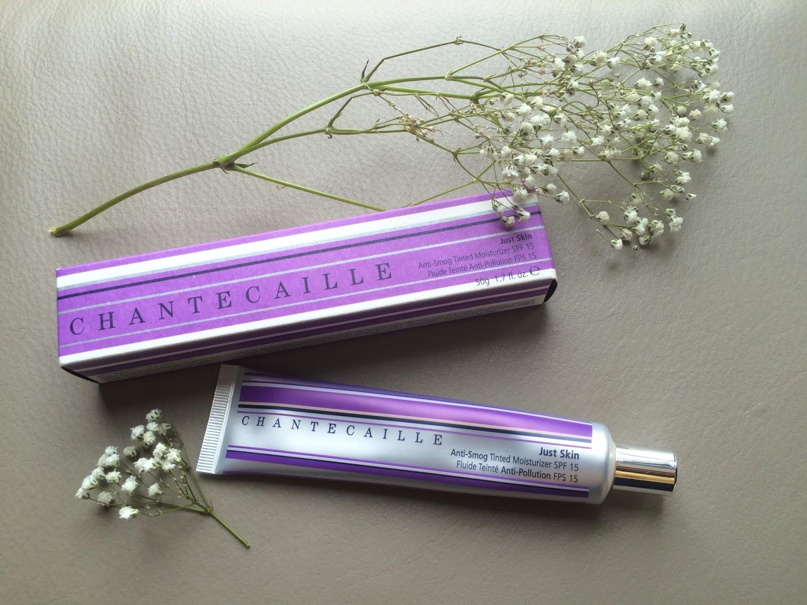 Chantecaille Just Skin Tinted Moisturizer Spf 15 Vanity Planet Glowspin Facial Brush - Not Ur Moms Purple