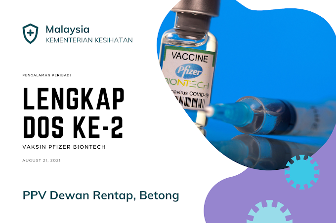 Lengkap Dos Ke-2 Vaksin Pfizer Biontech Di Malaysia