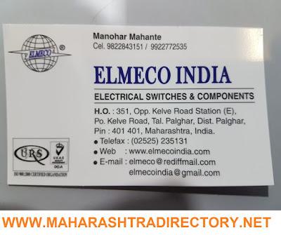 ELMECO INDIA - 9822843151 9922772535