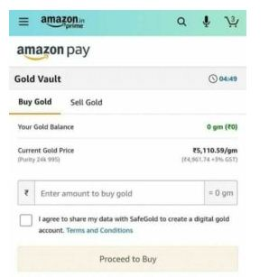How To Transfer Amazon Pay Balance To Bank Using Amazon Gold Vault Offer