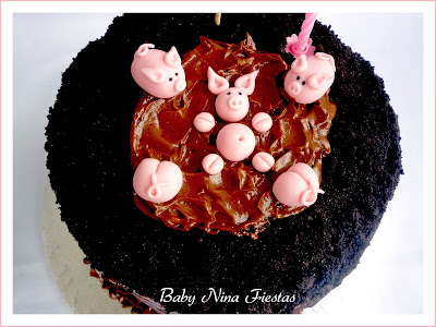 tarta pigs de chocolate
