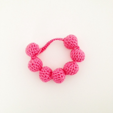 Annemaries Haakblog Crochet Bracelet Free Pattern