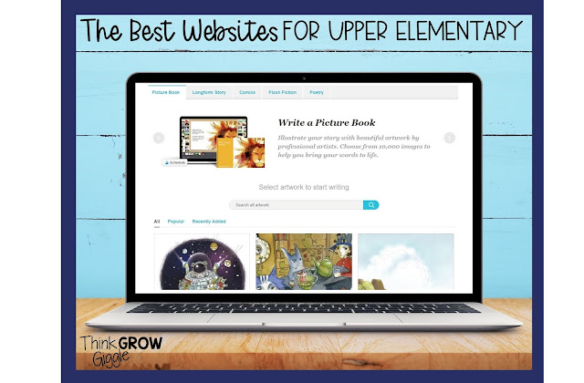 interactive websites for elementary learning