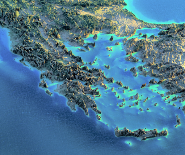 modern greece 5 themes of geography Location absolute location athens, greece 38º 00' n, 023º 44' e location relative location greece is north of the mediterranean sea, east of.