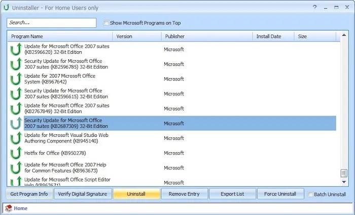 Best Uninstaller Program Windows 10 Puran