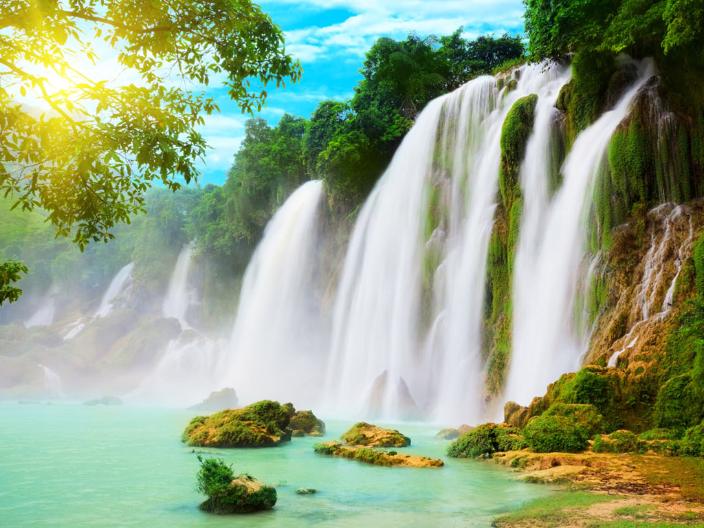 Wallpapers: Waterfalls Scenery Wallpapers