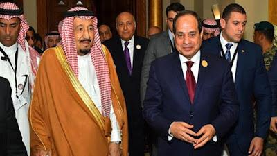 لحظة وصول الرئيس عبدالفتاح السيسي للقمة