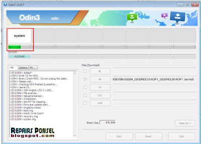 Tutorial Cara Flash Samsung Galaxy Grand Prime SM-G530H