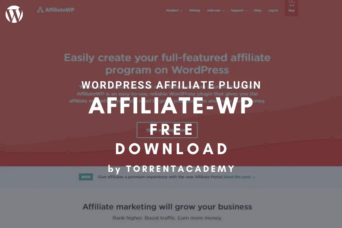 AffiliateWP WordPress Plugin Free Download