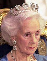 Sweden Six Button Tiara Princess Lilian