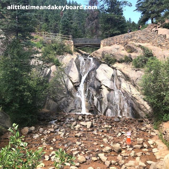 Helen Hunt Falls gracefully cascades.