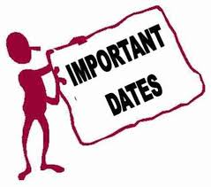 important dates and days