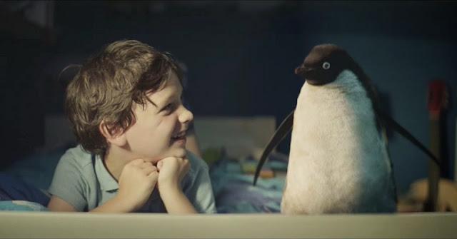 John Lewis, campaña de navidad 2014, Monty el pingüino