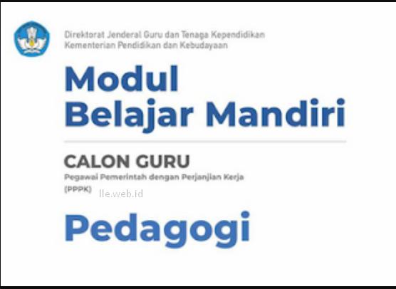 modul sejarah p3k