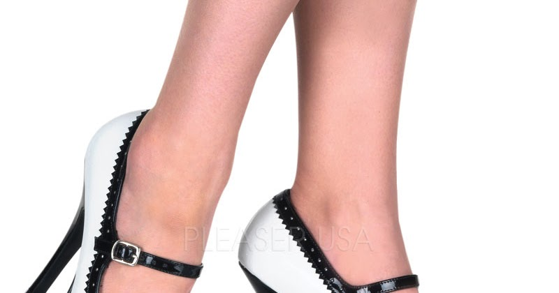 Black Pin Up Shoes