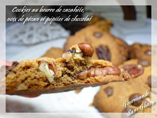 Cookies sans gluten au beurre de cacahuètes