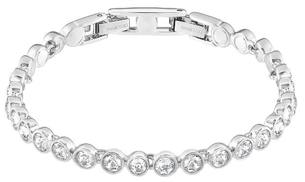 Swarovski Women Tennis Bracelet and Earring