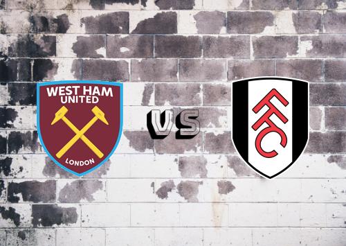 West Ham United vs Fulham  Resumen