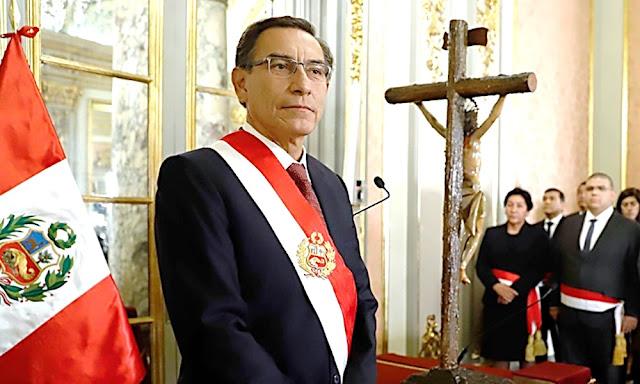 Ipsos: Martín Vizcarra cae cinco puntos en su aprobación