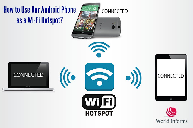 How to Use Our Android Phone as a Wi-Fi Hotspot?