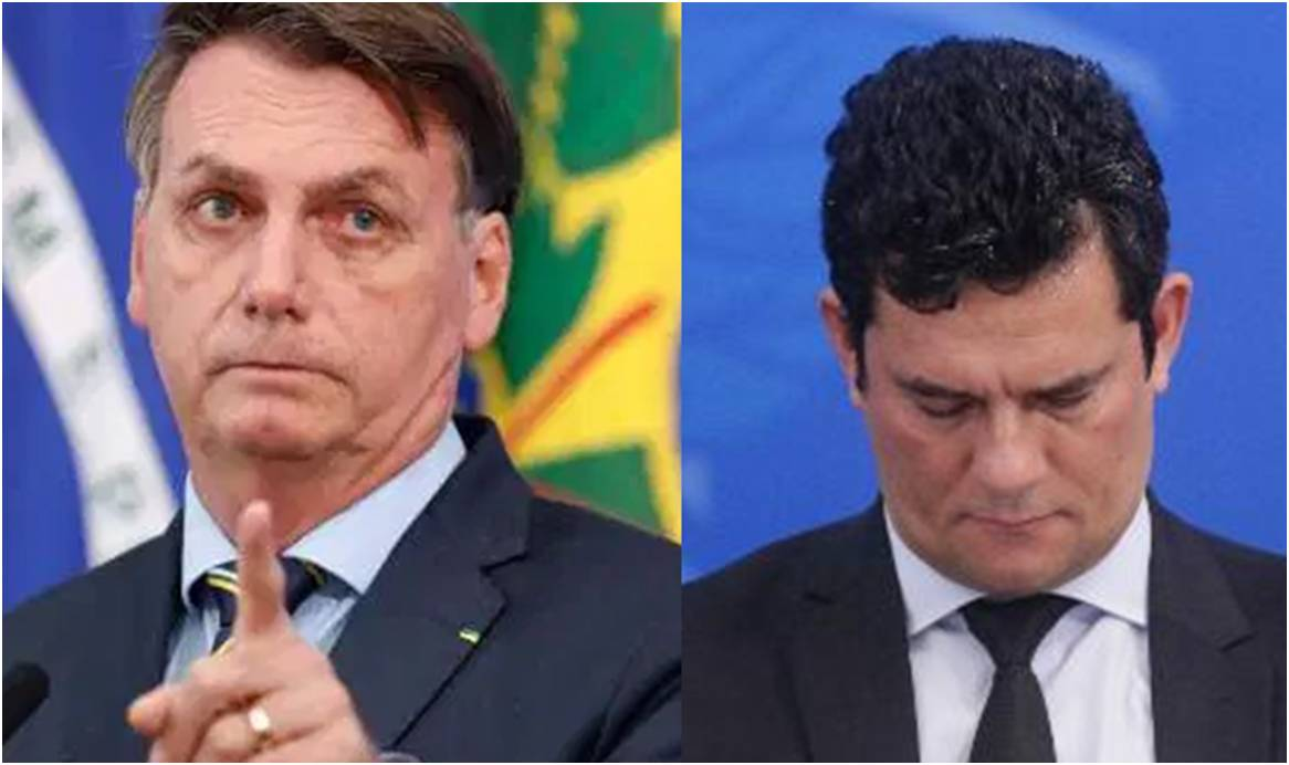 [Vídeo] Bolsonaro puxou a orelha de Moro: 'Cidadãos sendo algemados, cadê a Justiça?'