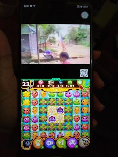 1 layar 2 tampilan - oppo f7