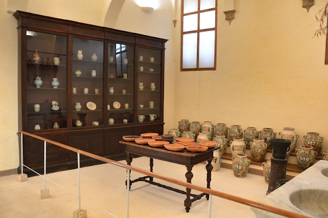 Peças expostas no Museo Archeologico em San Gimignano