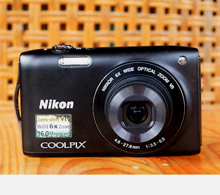 Jual kamera Digital Nikon CoolPIX S3300 bekas