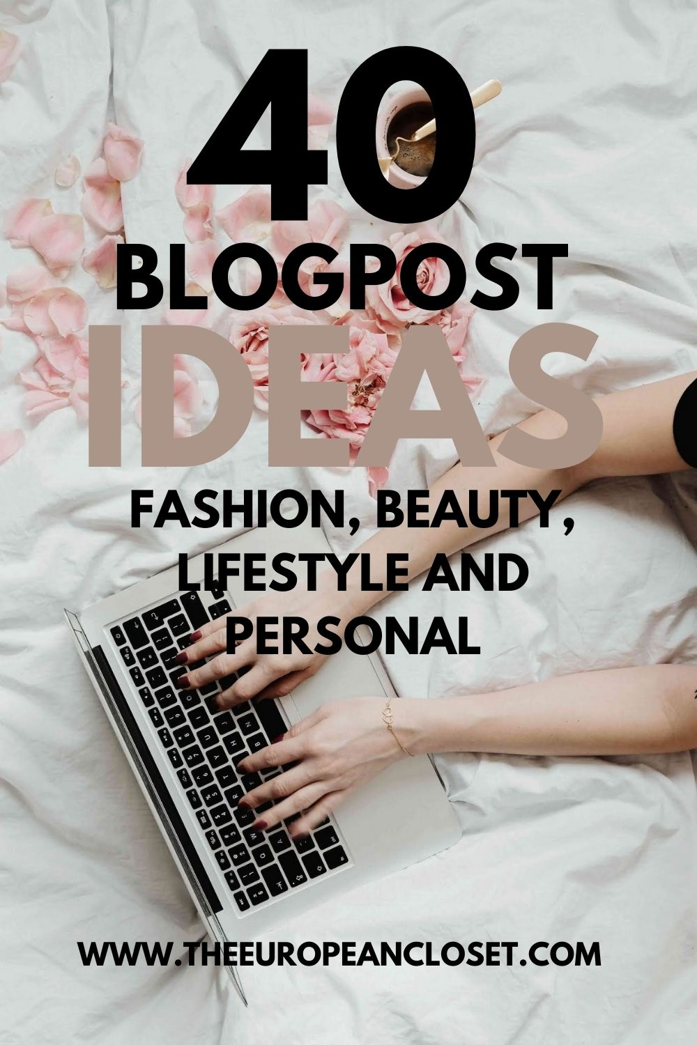Don't know what to write about on your blog? Ran out of ideas? Here are 40 blogpost ideas you can write right now.