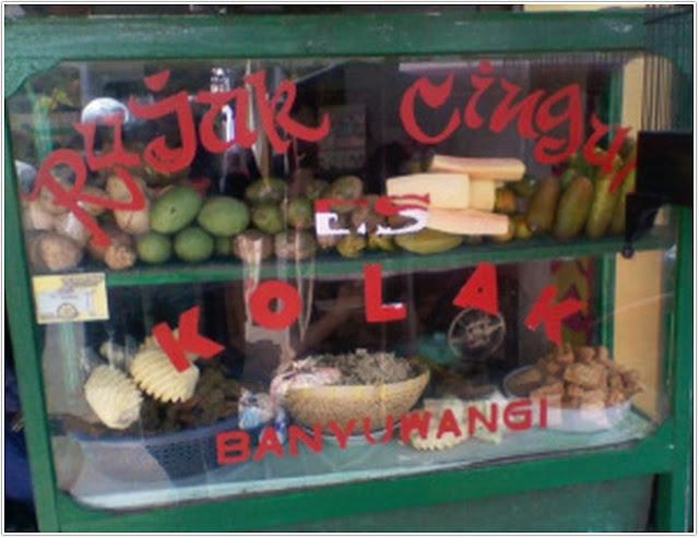 Rujak DPR;10 Top Kuliner Jember