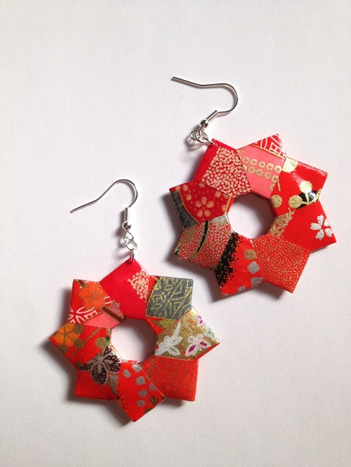 Metal Origami Jewelry by FoldItCreations - The Beading Gem ... - photo#15